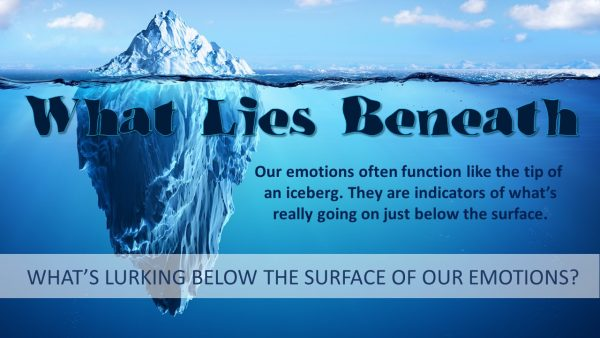 What Lies Beneath - Anxiety Image