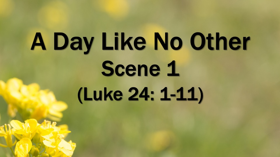 Easter: A Day Like No Other