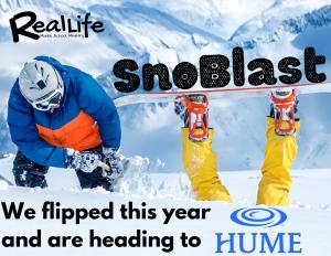 SnowBlast @ Hume Lake